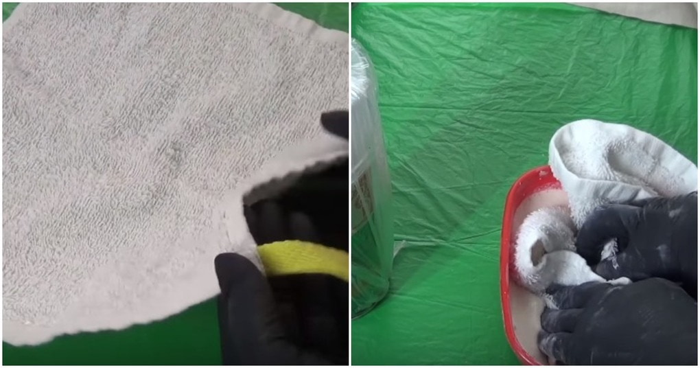 Простой трюк по использованию полотенца в декоре квартиры