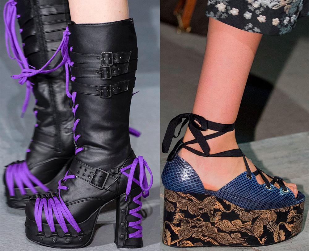 МОДНИЦАМ. Подборка модной обуви на платформе