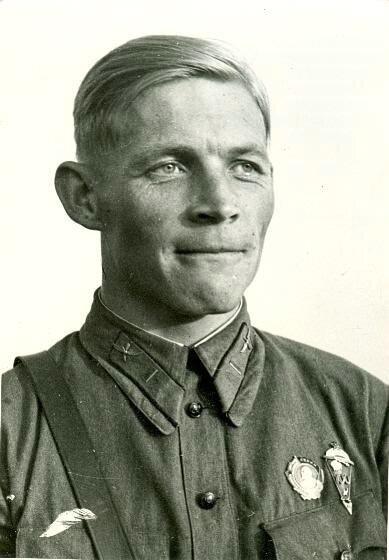 Парашютист товарищ Евдокимов Иван Шагин, 1936 год, МАММ/МДФ.