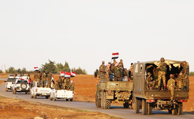Сирийская зима: У США две задачи — отжать нефть и свергнуть Асада