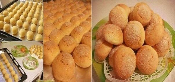 Простое и быстрое песочное печенье к приходу гостей