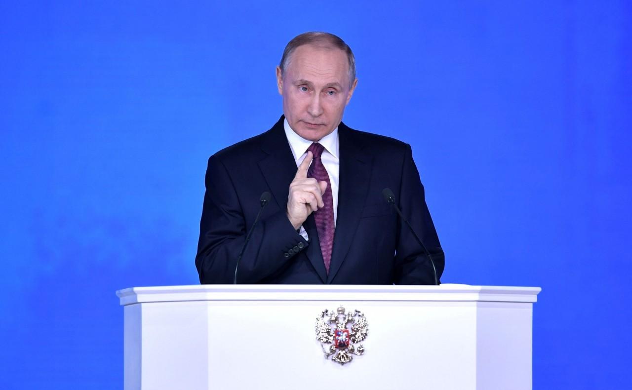 Владимир Путин: «Отставание – вот главная угроза»