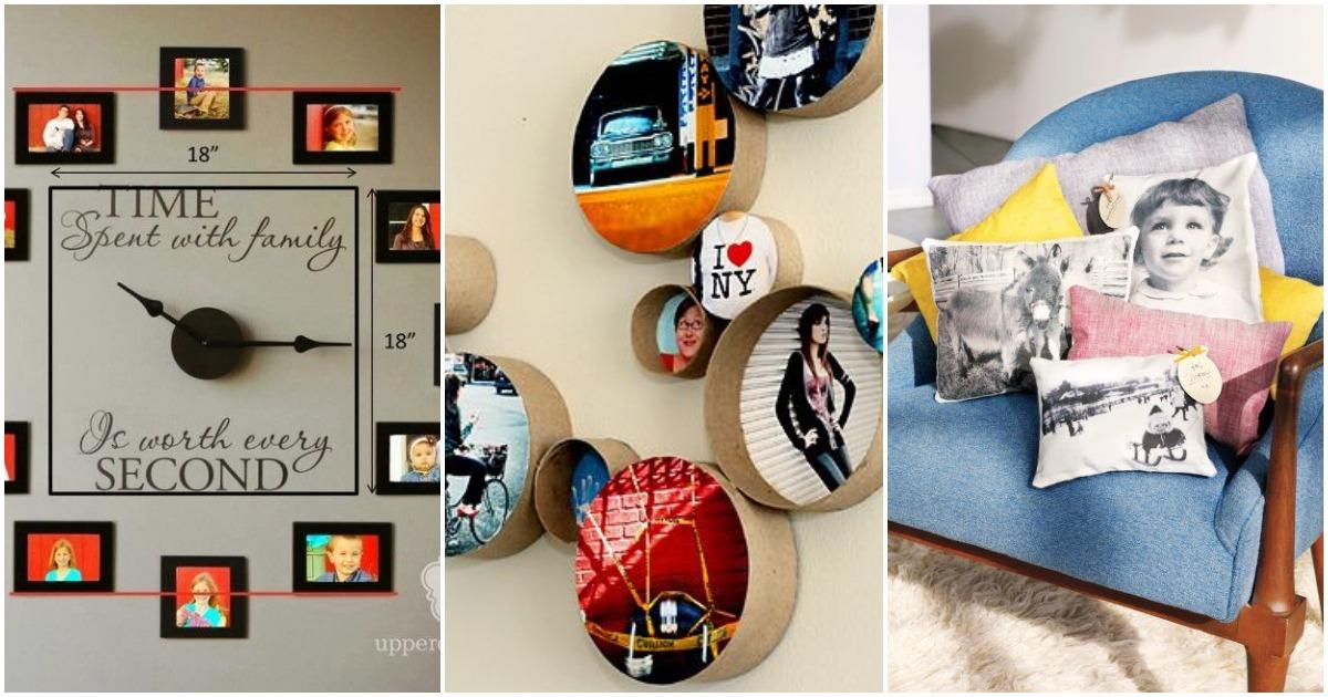 20+ фото идей размещения семейных фотографий в доме, достойных вашего внимания
