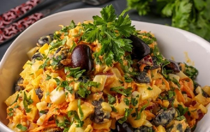 Вкусный салат «Француженка»:  для будней и для праздников