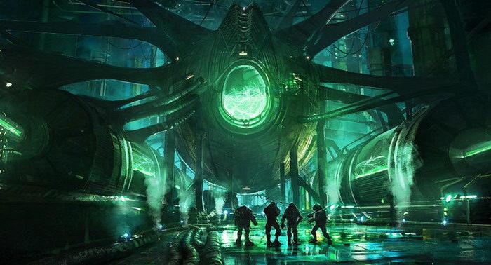 Апокалиптические картинки из мира далекого будущего
