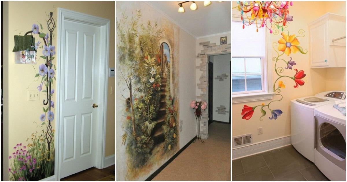 Кое-что оригинальное: художественная роспись стен и потолков