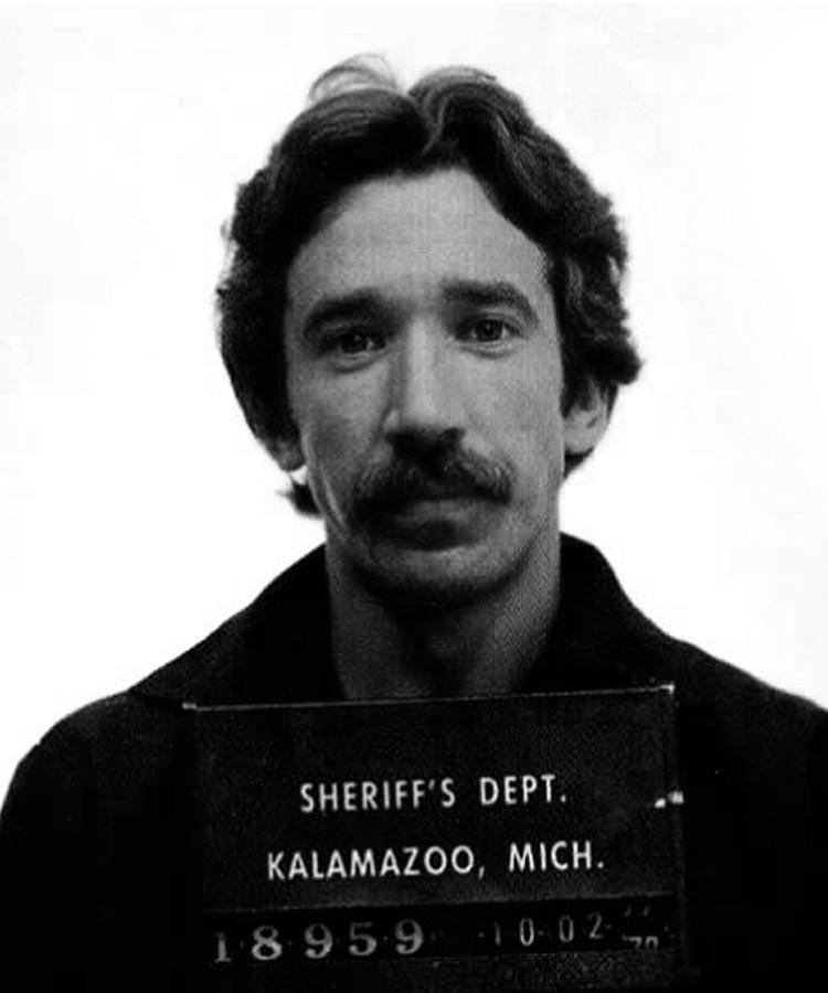 Тим Аллен. 1978 год. Хранение кокаина. арест, звезды, полиция, правонарушение