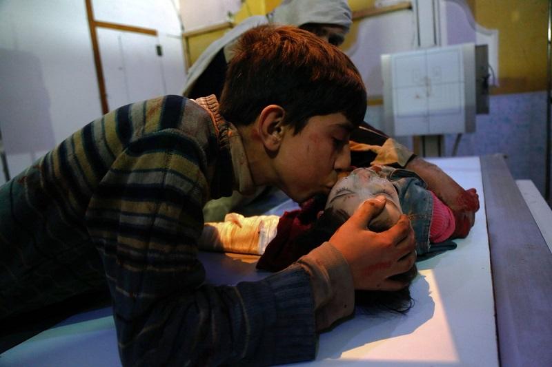Этот снимок облетел все газеты мира. Вся правда о войне в Сирии в фотографиях