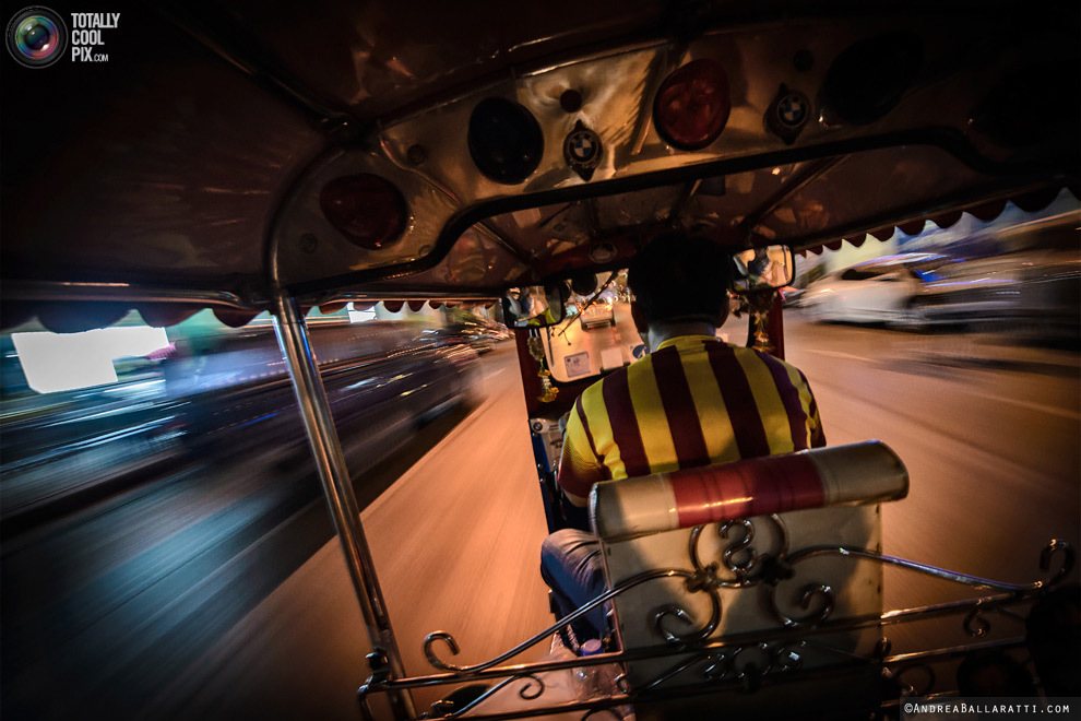 Бангкок и его моторикши обзоры