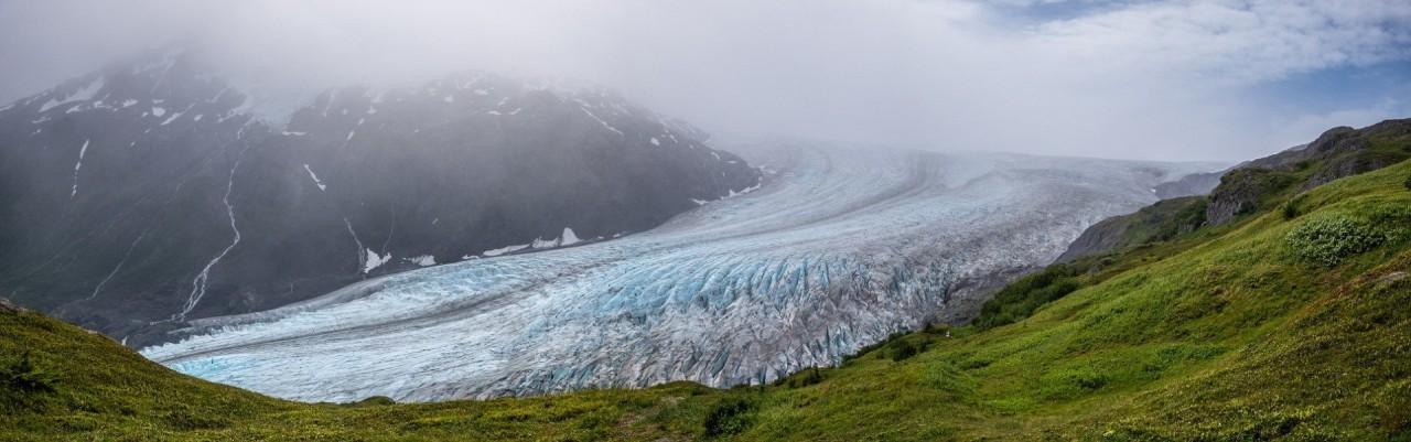 Ледник Экзит, национальный парк Кенай-Фьордс, Аляска красивые места, красота, ледник, ледники, природа, путешественникам на заметку, туристу на заметку, фото природы