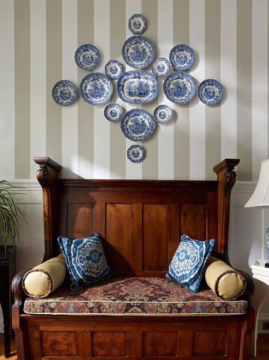 Идея №18: тарелки на стене