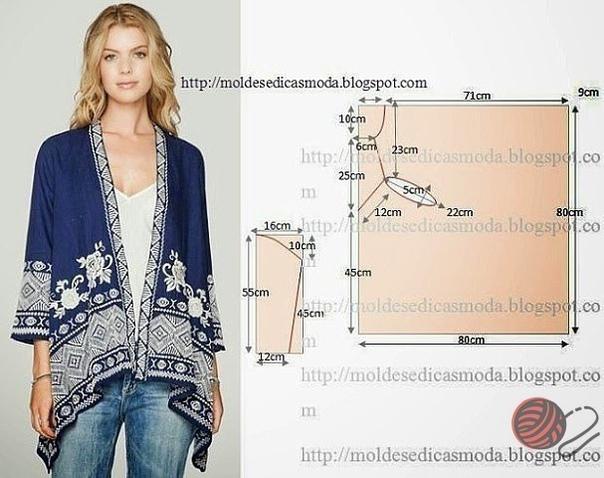 17c29aaa9e1 Моделирование оригинальных блузок и накидок - Это интересно - Шняги ...