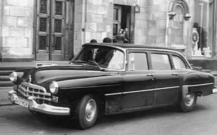 Авто для первых лиц уже сами по себе раритет.