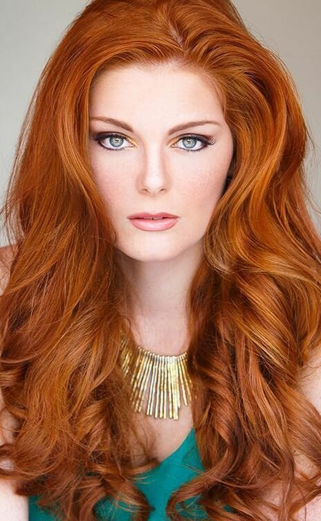 Картинки рыже-золотистые волосы