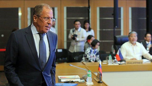 """Лавров пообещал Тиллерсону, что Россия """"и впредь будет отвечать"""" США"""