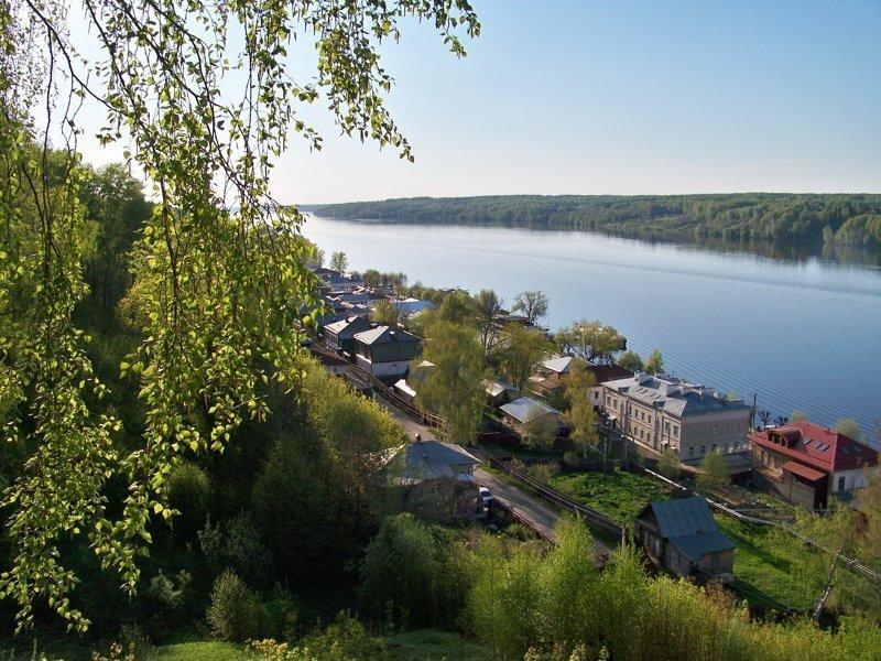 Самый маленький городок Золотого кольца ! Живет всего 2 тыс человек Города России, Плёс, ивановская область, красивые города, пейзажи, путешествия, россия