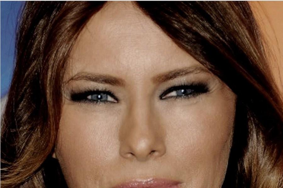 Меланья Кнавс-Трамп: злой взгляд узких ящеричных глаз…