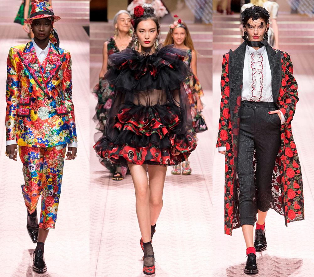 Dolce & Gabbana весна-лето 2019