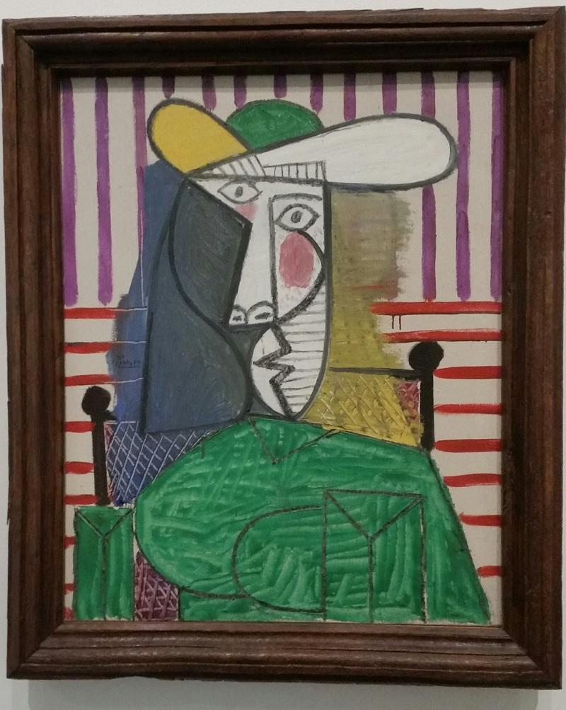 Драма Доры Маар: изувеченный портрет работы Пабло Пикассо в Тейт Модерн Пикассо, командой, однажды, Пабло, портрет, картину, Портрет, экспертной, искусства, нашей, консервации, представитель, оценки», сказал, ущерба, Modern, Порванный, «Произведение, «Женщины, масштабах