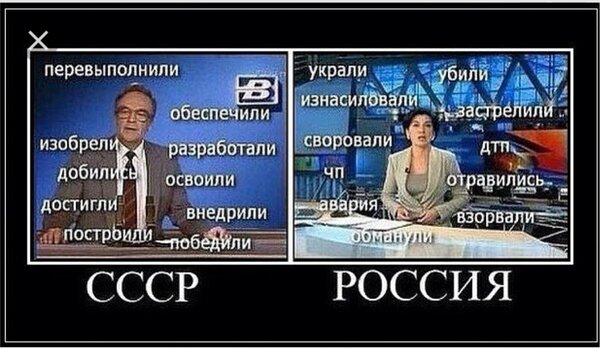 Люди в СССР и РОССИИ, где им комфортней.