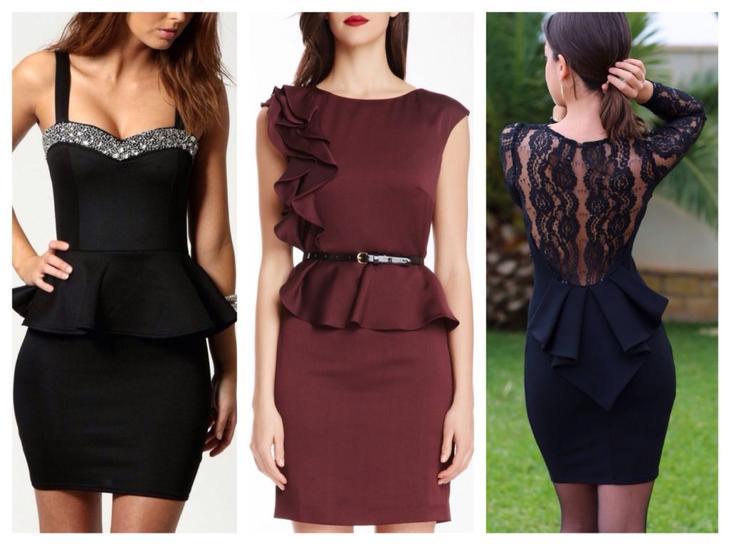 e690e8345c9 Юбки или платья с баской — отличный выбор для девушек с любой фигурой