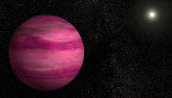 11. GJ 504 b -  розовая экзопланета  вселенная, интересное, космос, подборка, экзопланета