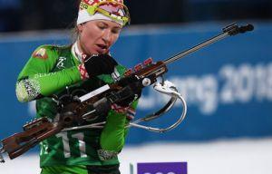 Сборная Белоруссии по биатлону выиграла эстафету на ОИ-2018