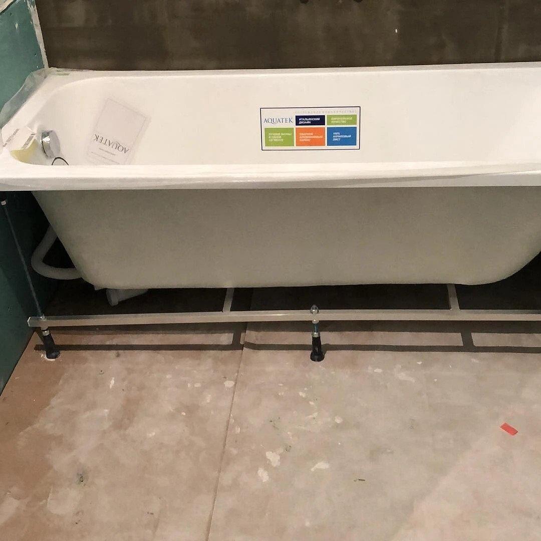 Как установить акриловую ванну своими руками: правила монтажа и инструкция акриловая ванна,ремонт и строительство,сантехника,своими руками