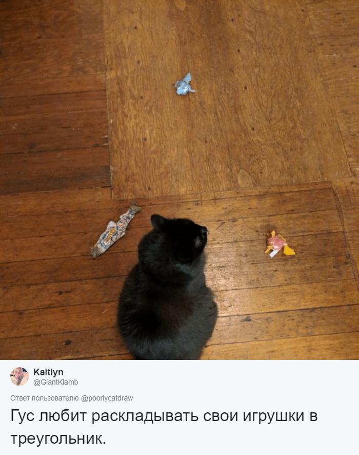 Любуется на себя в зеркале и думает, что он рыба: люди рассказали о странных занятиях своих котов жизнь