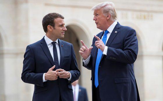 Дело Скрипаля: Трамп и Макрон заявили о необходимости принятия мер против России