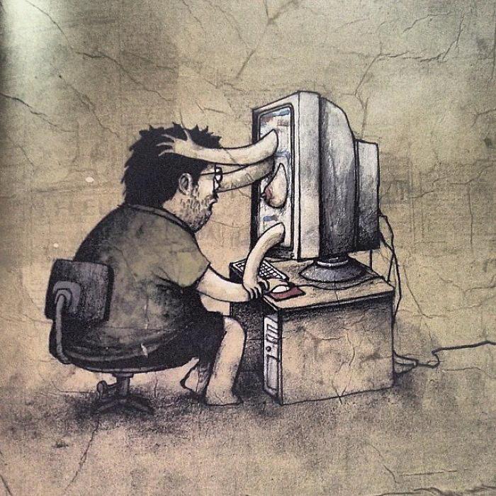 Стеб над современной реальностью