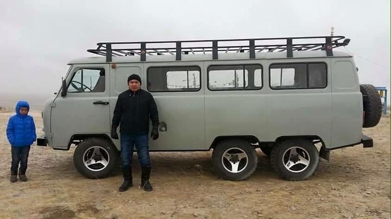 Монгольский тюнинг УАЗа