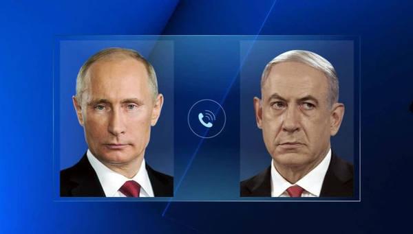 Нетаньяху позвонил Путину по…