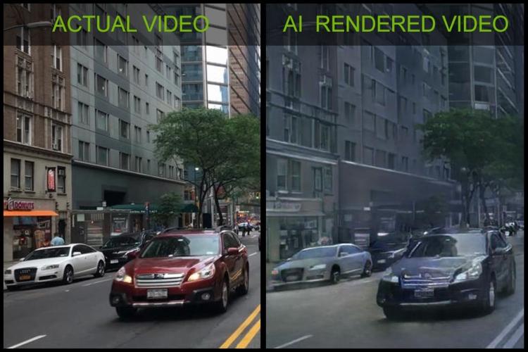 NVIDIA создала игровую демонстрацию с графикой, генерируемой ИИ