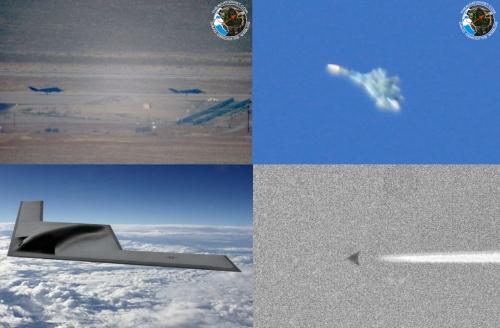 Загадочная катастрофа над суперсекретной авиабазой США
