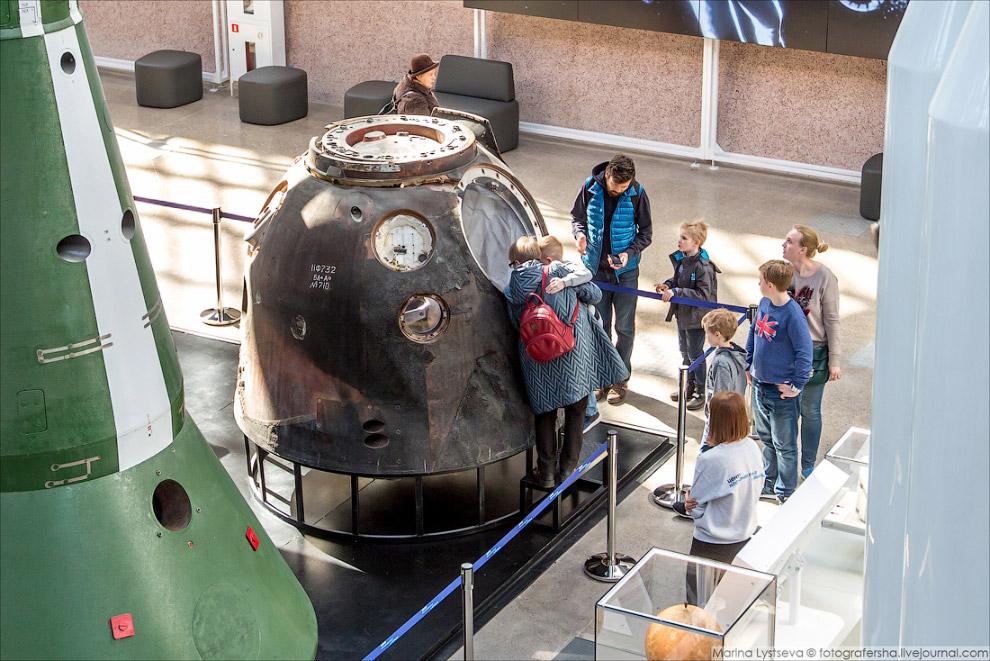Спускаемый аппарат космического корабля «Союз ТМА»