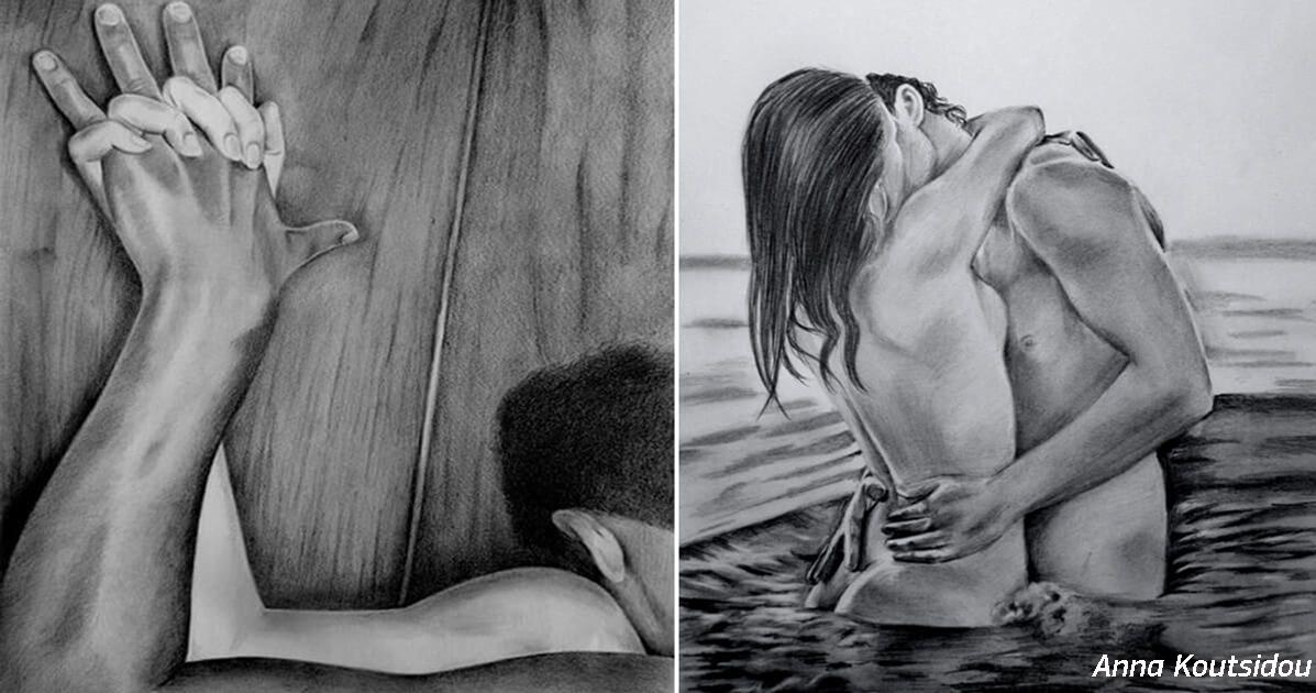 25 рисунков греческой художницы, которые показывают красоту истинной любви