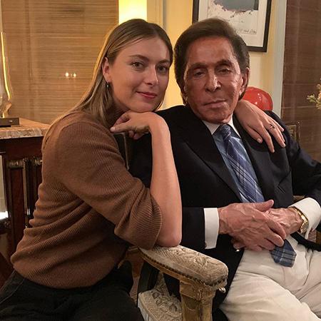 Мария Шарапова с бойфрендом, семья Бекхэм и другие на ужине в Лондоне новости