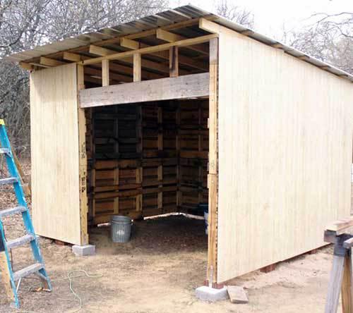 Строим сарай из поддонов на даче нижний новгород