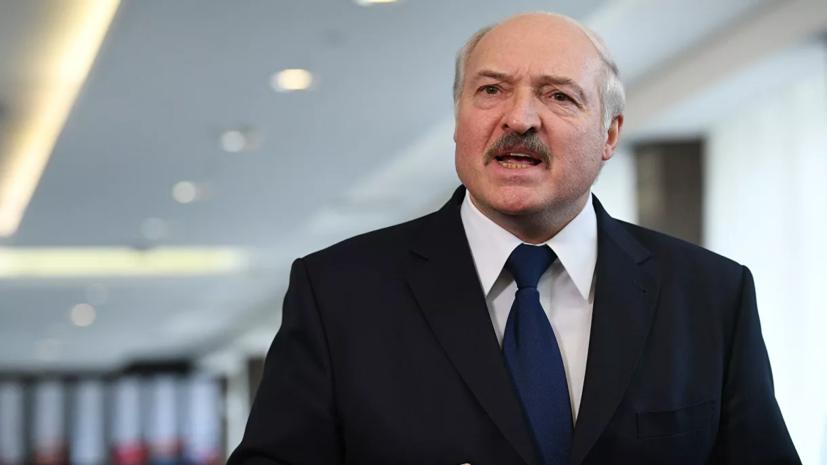 Лукашенко запретил своему окружению проводить специальные медицинские меры предосторожности