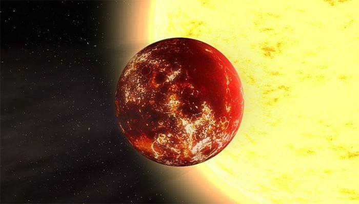 5. 55 Рака e - алмазная суперземля вселенная, интересное, космос, подборка, экзопланета