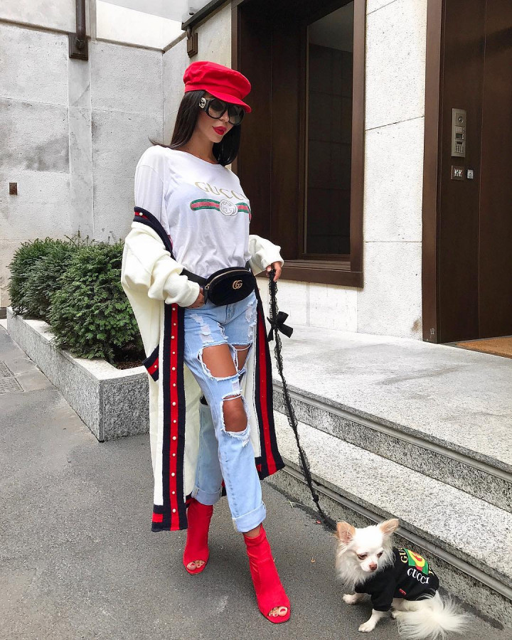 Подборка инстаграмной безвкусицы «модных» блогеров