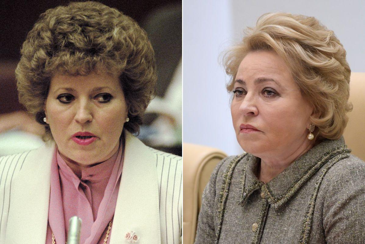 Тогда и сейчас. Как изменились женщины-политики путинской эпохи (22 ФОТО)