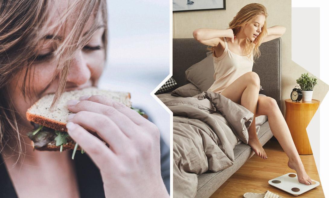 Почему ты до сих пор не перешла на здоровое питание