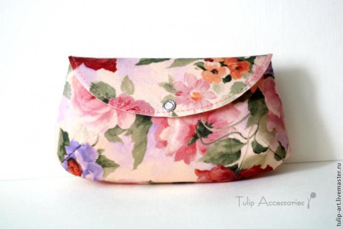 Шьем маленькую сумочку за 15 минут женское хобби