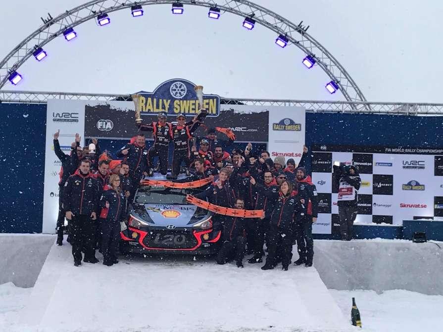 Победитель Ралли Швеции: «Мы…