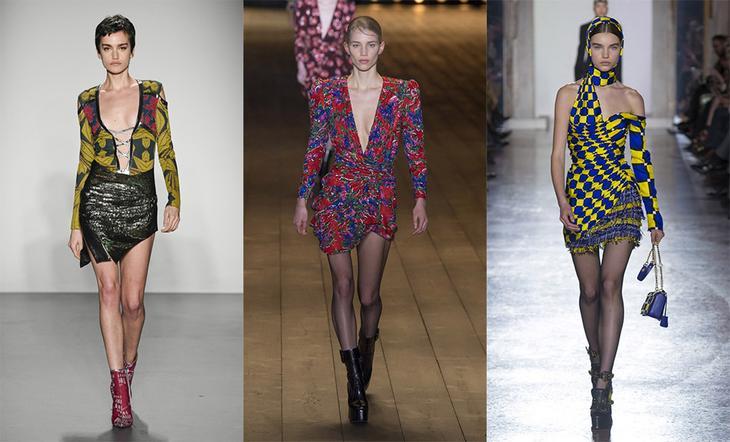 Ультрасексуальные платья — смелый тренд на будущую осень