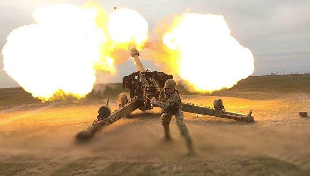 """ВСУ обстреляли позиции """"Правого сектора""""* и """"Азова"""""""