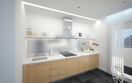 Решение интерьера кухни от Z.design