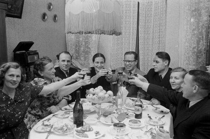 Семейный уют 50-ых на разных полюсах холодной войны. ностальгия